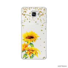 YOUR NAME IN SUNFLOWER GARDEN - Samsung Galaxy A5 2016
