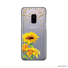 YOUR NAME IN SUNFLOWER GARDEN - Samsung Galaxy A8 Plus 2018