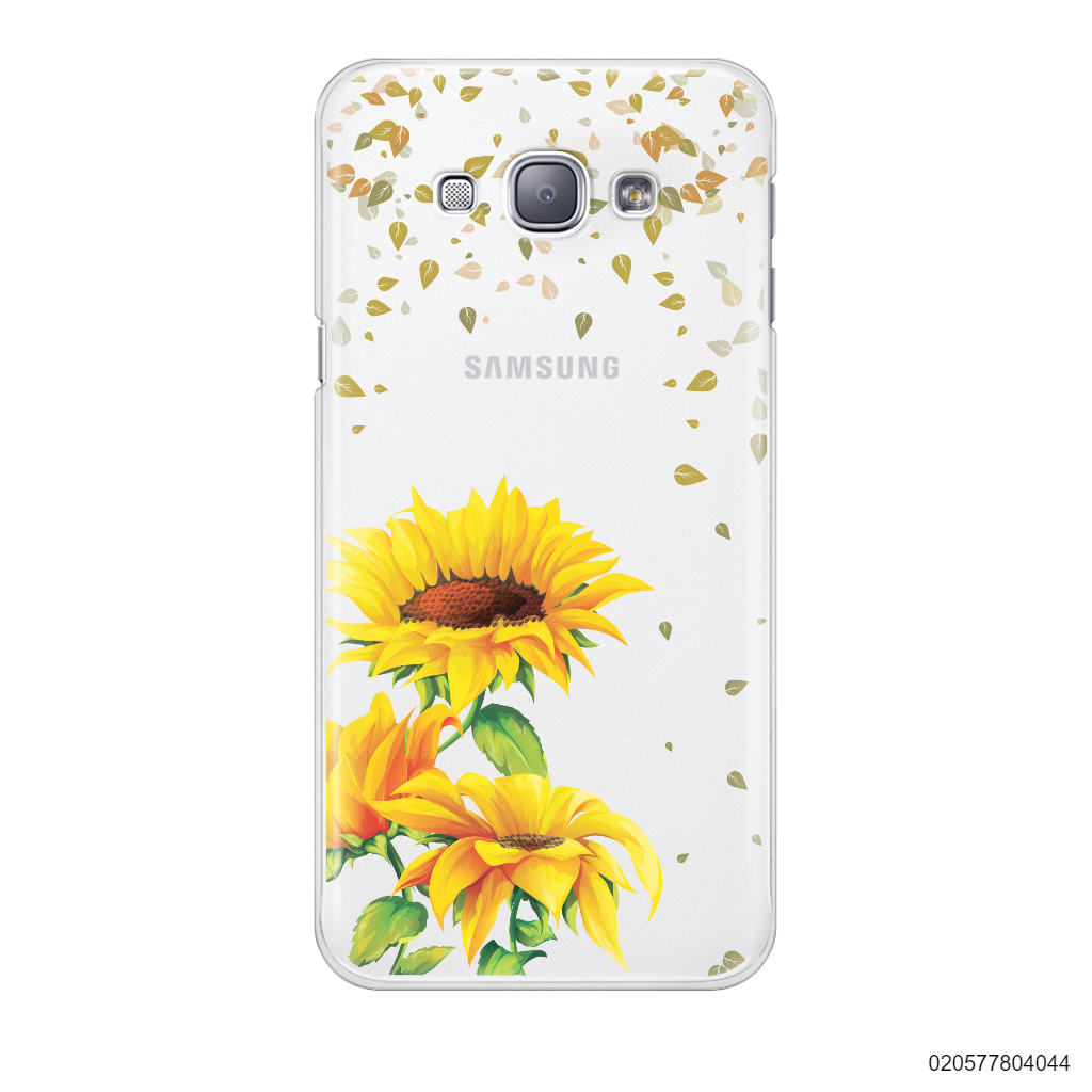 YOUR NAME IN SUNFLOWER GARDEN - Samsung Galaxy A8 2015