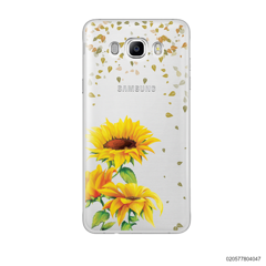 YOUR NAME IN SUNFLOWER GARDEN - Samsung Galaxy J7 2016