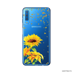 YOUR NAME IN SUNFLOWER GARDEN - Samsung Galaxy A7 2018