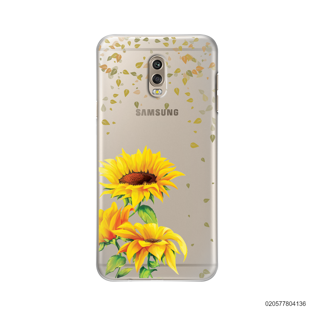 YOUR NAME IN SUNFLOWER GARDEN - Samsung Galaxy J7 Plus