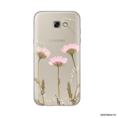 LIGHT PINK DRIED FLOWER - Samsung Galaxy A7 2017