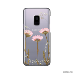 LIGHT PINK DRIED FLOWER - Samsung Galaxy A8 2018