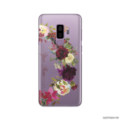 RED VELVET ROSE BOW - Samsung Galaxy S9 Plus