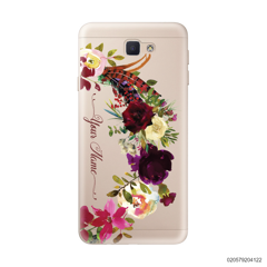 RED VELVET ROSE BOW - Samsung Galaxy J5 Prime