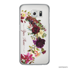 RED VELVET ROSE BOW - Samsung Galaxy S6 Edge