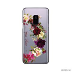 RED VELVET ROSE BOW - Samsung Galaxy A8 2018