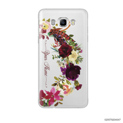 RED VELVET ROSE BOW - Samsung Galaxy J7 2016