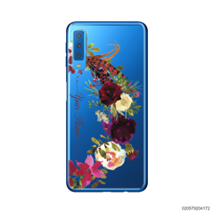 RED VELVET ROSE BOW - Samsung Galaxy A7 2018