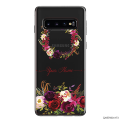 RED VELVET ROSE CIRCLE - Samsung Galaxy S10