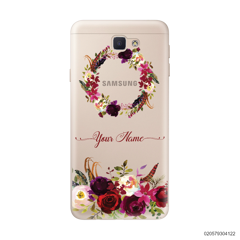 RED VELVET ROSE CIRCLE - Samsung Galaxy J5 Prime