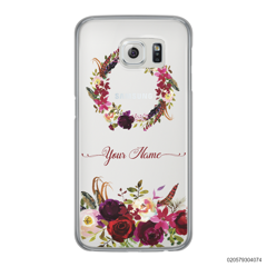 RED VELVET ROSE CIRCLE - Samsung Galaxy S6 Edge
