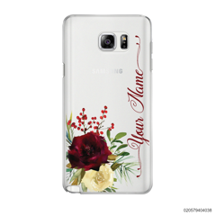 YOUR NAME WITH RED VELVET ROSE - Samsung Galaxy Note 5