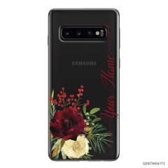 YOUR NAME WITH RED VELVET ROSE - Samsung Galaxy S10