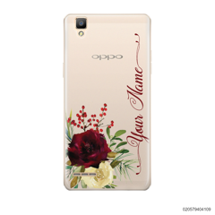 YOUR NAME WITH RED VELVET ROSE - Oppo F1