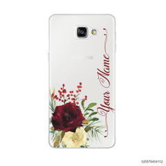 YOUR NAME WITH RED VELVET ROSE - Samsung Galaxy A9 Pro