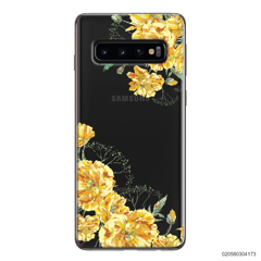 YELLOW FLORAL NAME - Samsung Galaxy S10