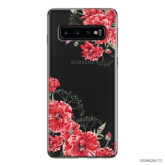 RED FLORAL NAME - Samsung Galaxy S10