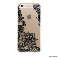 FLORAL HENNA STYLE - BLACK - iPhone 6/6s Plus