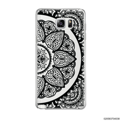 HALF OF MANDALA - BLACK - Samsung Galaxy Note 5