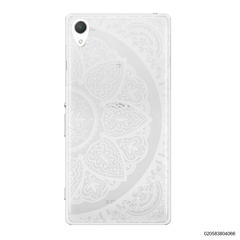 HALF OF MANDALA - WHITE - Sony Xperia Z2