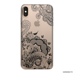 HENNA STYLE - BLACK - iPhone XS Max