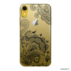 HENNA STYLE - BLACK - iPhone XR