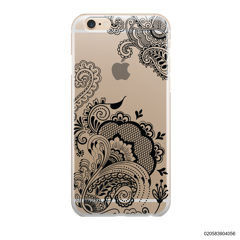 HENNA STYLE - BLACK - iPhone 6/6s Plus