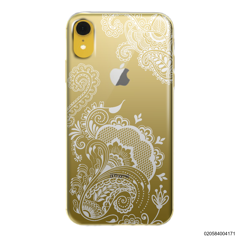 HENNA STYLE -WHITE - iPhone XR