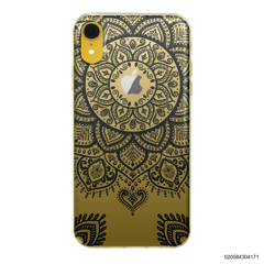 MANDALA HENNA STYLE - BLACK - iPhone XR