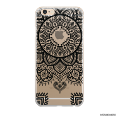 MANDALA HENNA STYLE - BLACK - iPhone 6/6s Plus