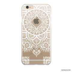 MANDALA HENNA STYLE - WHITE - iPhone 6/6s Plus
