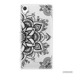 THE ART OF HENNA STYLE - BLACK - Sony Xperia Z2