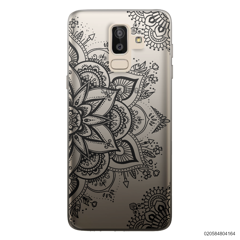 THE ART OF HENNA STYLE - BLACK - Samsung Galaxy J8 2018