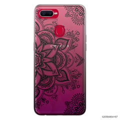 THE ART OF HENNA STYLE - BLACK - Oppo F9