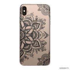 THE ART OF HENNA STYLE - BLACK - iPhone XS Max
