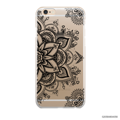 THE ART OF HENNA STYLE - BLACK - iPhone 6/6s Plus