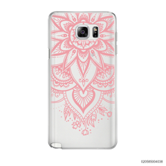 BEAUTIFUL HENNA STYLE - PINK - Samsung Galaxy Note 5