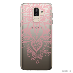 BEAUTIFUL HENNA STYLE - PINK - Samsung Galaxy J8 2018