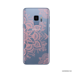 THE ART OF HENNA STYLE - PINK - Samsung Galaxy S9