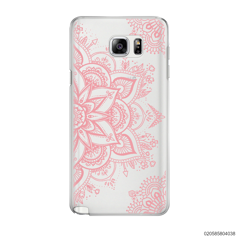 THE ART OF HENNA STYLE - PINK - Samsung Galaxy Note 5