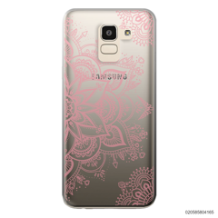 THE ART OF HENNA STYLE - PINK - Samsung Galaxy J6 2018
