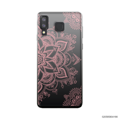 THE ART OF HENNA STYLE - PINK - Samsung Galaxy A8 Star