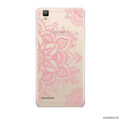 THE ART OF HENNA STYLE - PINK - Oppo F1