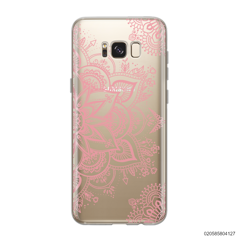 THE ART OF HENNA STYLE - PINK - Samsung Galaxy S8