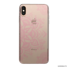 THE ART OF HENNA STYLE - PINK - iPhone XS Max