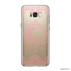 NEW MOON AND FRILL LINES - PINK - Samsung Galaxy S8