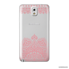 MANDALA AND FRILL LINES - PINK - Samsung Galaxy Note 3