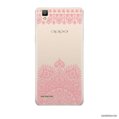 MANDALA AND FRILL LINES - PINK - Oppo F1